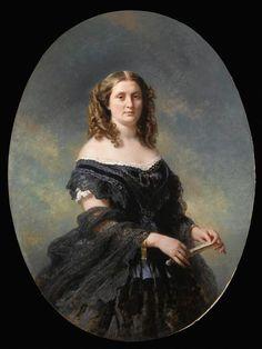 Madame Ducos Winterhalter Franz Xaver (1805-1873)