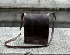 iPad bag crossbody iPad bag leather shoulder от MoonshineLeather