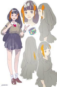 inMusic イメージキャラクター:iMU(イミュー)※正式版  inMusic Brands Inc. の日本支社である Numark Japan Corporation(http://numark.co.jp)のイメージキャラクターをデザインさせていただきました。  iMUはシンセやDTMに強い関心を持ってる宅録系ガール。 他の楽器メーカーとはひと味ちがう、inMusic社の個性派アイテムに彼女は毎度興味津々…好奇心旺盛な彼女ならではの発想で新しい音楽ライフスタイルをみなさんに提案します