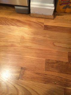 Indentation pattern in floorboard (6)