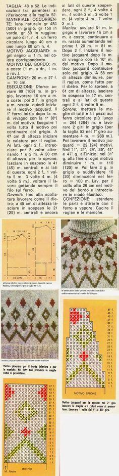 Professione Donna: Lavori a maglia: Un pullover per lui, in stile norvegese