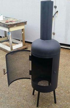 Bespoked wood burner / chiminea