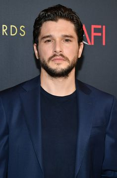 He was nominated for Outstanding Lead Actor in a Drama Series for his role as Jon Snow in Game of Thrones. Josh Hartnett, Kit Harington, George Clooney, Image Hero, Eddard Stark, Nyle Dimarco, Face Shape Hairstyles, King In The North, Avan Jogia