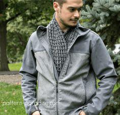 Free Crochet Pattern: Alpine Nights Scarf   Pattern Paradise