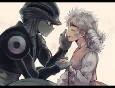 Meruem and Komugi - Hunter X Hunter