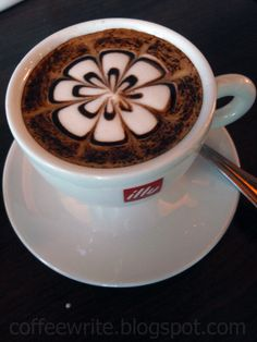 Image detail for -Coffee Art at San Francisco Steak House Tropicana Mall