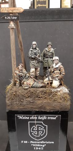 Military Diorama, Military Art, Military Modelling, German Army, Figure Model, Reference Images, Vignettes, Ww2, Miniatures