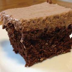 Honey-Cocoa Frosting Allrecipes.com