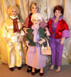 Golden girl barbies!!!! this is fabulous!
