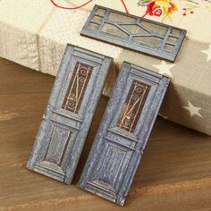 Prima - Wood Embellishments - Doors - Set 8 at Scrapbook.com $3.99