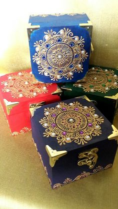 Mandala Trinket Box @Henna_ByBella