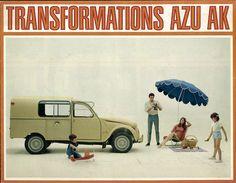 Citroen AZU 06 1967 (Car Ad Art)