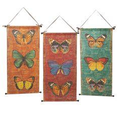 3 Piece Butterfly Wall Décor Set (Set of 3)