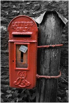 Red letter day. Postbox. Royal Mail. Letters. Happy Mail. Stamps. United Kingdom. Iconic. British.