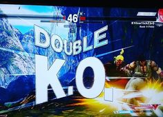 Interesting one by killswitchzero7 #arcade #microhobbit (o) http://ift.tt/1Qe4HxH u srs? a double ko? At least i won the match haha sucks for that other guy #streetfighterv #streetfighter #ryu #ken #sfv #capcom #ps4 #sony #playstation. #anime #manga #japanese #fightstick