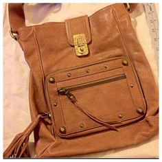 Hp Authentic Chloe Fringe Boho Brown Rare Bag