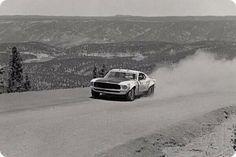 Classic Mustang at Pikes Peak