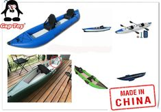 Inflatable Kayak andem 2 person Sit On Top Kayaks for sale Kayaks For Sale, Sit On Kayak, Wooden Kayak, Kayak Paddle, Inflatable Kayak, Best Sunscreens, Boat Covers, Sit On Top, Person Sitting
