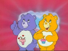 Share Bear and Birthday Bear from The Care Bears Movie Moomin, Care Bear Birthday, Care Bears, Bear Theme, Cartoon Profile Pictures, Cartoon Icons, Dora The Explorer, Photo Wall Collage, Vintage Cartoon