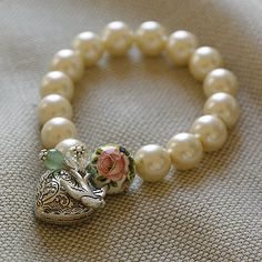 Handmade Pearl Bracelet Lisa Angel New Range  by lisa angel jewellery    £28