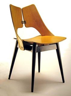 Plucka (Lungs) chair, 1956 by Maria Chomentowska