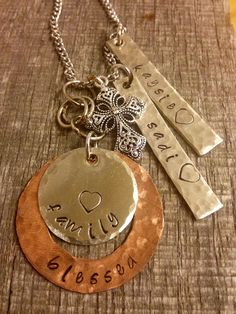 Before stamping blanks create texture in them using PJ Tool Jewelry's Textured Hammers!