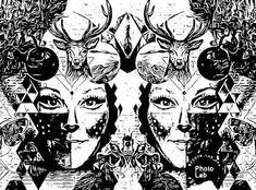 Satu Ylävaara Retrospective Art: Sitten oli testissä Comican sovellus, puhelimella: omakuvia eli sarjakuvia Satu, Rocky Horror, Snow Queen, Petunias, Graphic Art, Artwork, Graffiti, Printing, Artist