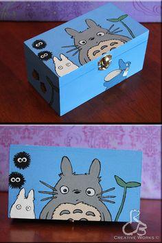 Totoro box by ~Rabeccasaurus on deviantART