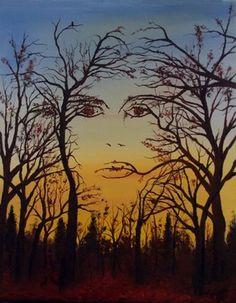 "Saatchi Online Artist Christopher Cox; Painting, ""Mother Nature"" #art"