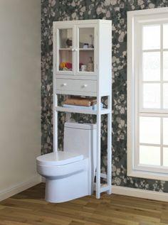 Space Saver Over the Toilet Cabinet - White Zest Avenue http://www.amazon.com/dp/B00H9KDEZW/ref=cm_sw_r_pi_dp_kNlBvb07ASFKK