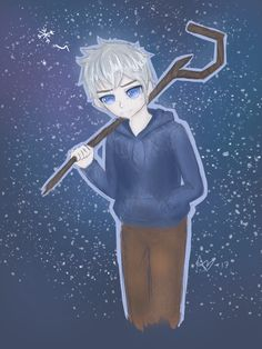 Jack Frost from Rise of the Guardians by Amicyberspace