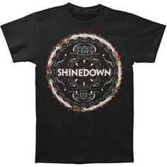 Rockabilia Shinedown Disc T-shirt