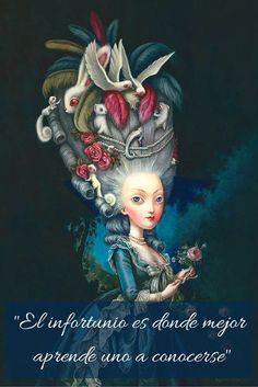María Antonieta. Diario secreto de una reina de Benjamin Lacombe.