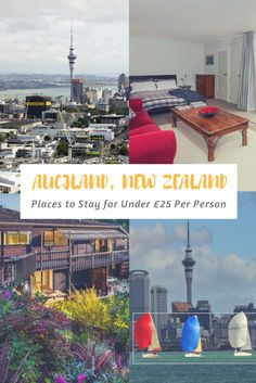 Places to Stay in Auckland city for under £25 per night including hostels, apartments and houses.