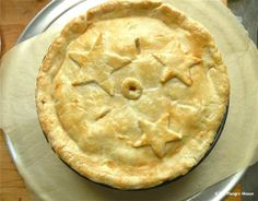 Mile-High Apple Pie—3 inches of fruity goodness from The Hungry Mouse.