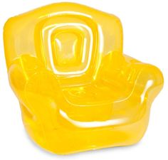 Canary Yellow Inflatable Bubble Chair | BlueFade.com
