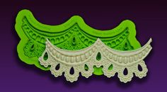 Lace Molds - Earlene's Enhanced Lace Molds - Silicone Lace Moulds | MakeYourOwnMolds.com