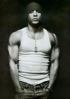 """Vin Diesel (born Mark Sinclair Vincent), actor, writer, director & producer. The name """"Vin"""" is simply a shortened version of """"Vincent"""", & the nickname """"Diesel"""" comes from his friends who said he ran off diesel fuel, referring to his non-stop energy. He is known for his roles in Pitch Black, The Fast and the Furious films, xXx, Saving Private Ryan & The Chronicles of Riddick. He also earned acclaim for the voice of the title character in the film The Iron Giant. He has a twin named Paul…"""