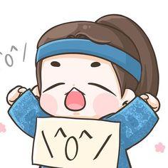 exo and baekhyun -scarlet heart ryeo Baekhyun Fanart, Exo Chanyeol, Korean Art, Cute Korean, Korean Drama, Bts Chibi, Anime Chibi, Baekhyun Moon Lovers, Exo Cartoon