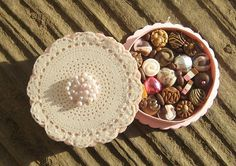 Miniature Box of Chocolates 12th Scale Shabby by TheSweetBaker