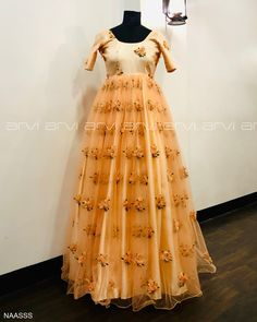 Embroidery for classy lovers Bridal Outfits, Bridal Gowns, Wedding Gowns, Bridal Lehenga, Kids Frocks, White Gowns, South Indian Bride, Embroidered Blouse, Coimbatore