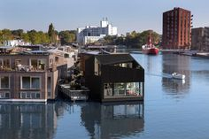 i29 completes angular floating house as part of sustainable community.