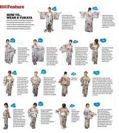 "Image detail for -How to wear a ""YUKATA"""