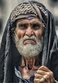 Egyptian farmer from the country side.