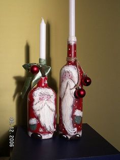 (2) Garrafas de Natal