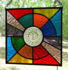Hey, I found this really awesome Etsy listing at https://www.etsy.com/listing/187725243/stained-glass-suncatcher-circle-within-a