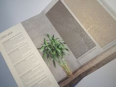 NEW Cera Wax catalogue now available! The water-based decorative finish for interiors based of polyethylene wax