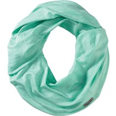 Smartwool Women's Seven Falls Infinity Scarf ($45) ❤ liked on Polyvore featuring accessories, scarves, mint, tube scarves, round scarves, tube scarf, round scarf and circle scarves