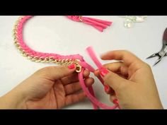 Fashion Topic El Galeón Crystal Golden Chain Necklace - YouTube
