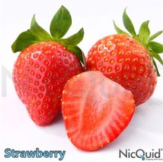 NicQuid strawberry (Taste like real Strawberries not candy!!)